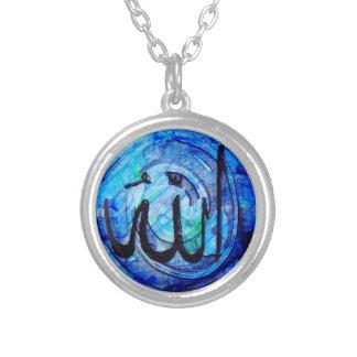 له AllāhNecklace Silver Plated Necklace