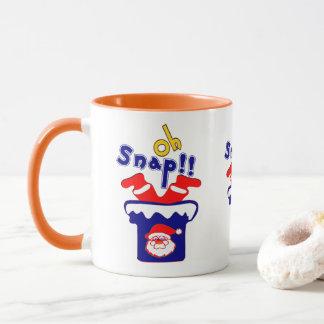 🎅ټOh! Sanp, Clumsy Santa Stuck in a Chimney Combo Mug