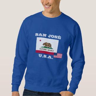 कैलिफोर्निया de la camiseta de San Jose, सैन Pulóvers Sudaderas