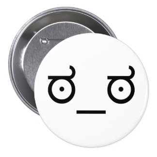 ಠ_ಠ Look of Disapproval ASCCI Emoticon Text Art Button