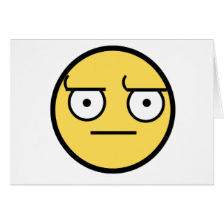 ಠ_ಠ Look of Disapproval Card