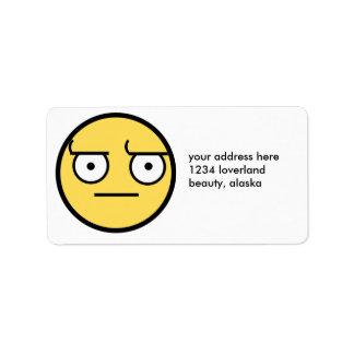 ಠ_ಠ Look of Disapproval Label