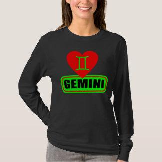 ๑▒★Love Gemini Bella Ladies Long Sleeve T-Shirt★▒๑ T-Shirt