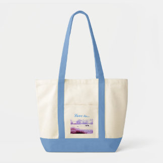 ♠»¦๑A Lovely Pair of Cranes Impulse Tote Bag ๑¦«♠