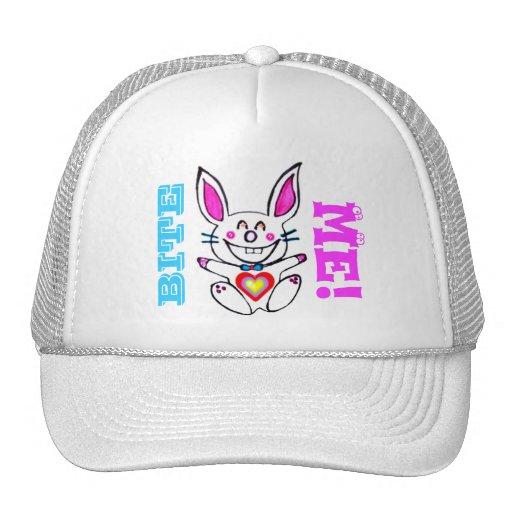 ♠»¦๑Çütê Naughty Bunny Trucker Hat๑¦«♠ Trucker Hats