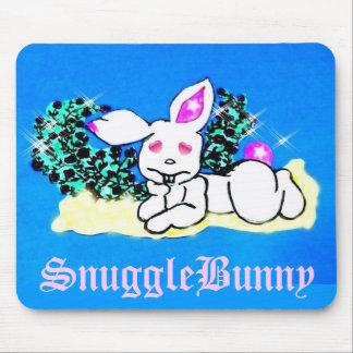 ♠»¦๑Çütê Snow SnuggleBunny Mouse Pad๑¦«♠ Mouse Pad
