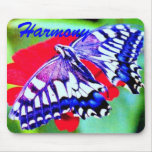 ♠»¦๑Tiger Swallowtail Butterfly Mouse Pad๑¦«♠ Mouse Pad
