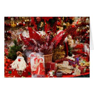 ¡გილოცავთშობა! Felices Navidad en el wf georgiano Tarjeta De Felicitación