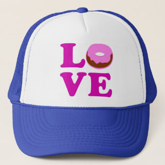ღ♥ټLove Donut Stylish Cool Trucker Hatټ♥ღ Trucker Hat