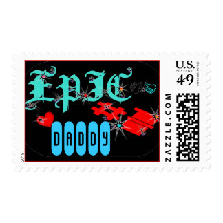 ღ╬♥ÊPÏÇ-#1 Customizable Postage Stamp♥╬ღ