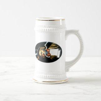 ¢ℓ☹wn del ゚ṧad jarra de cerveza