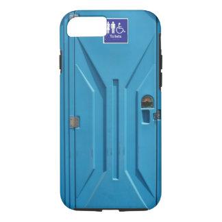 おもしろいな公共の携帯用洗面所 iPhone 7 CASE