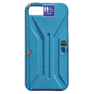 おもしろいな公共の携帯用洗面所 iPhone SE/5/5s CASE