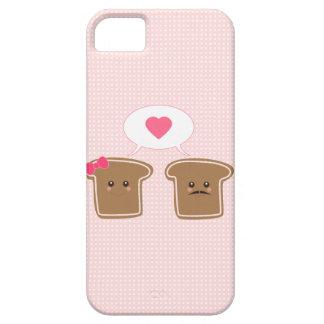 かわいいのトースト愛 iPhone 5 FUNDAS