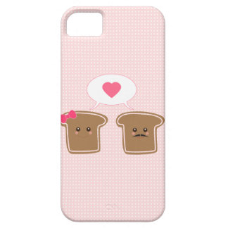 かわいい トースト愛 iPhone 5 COVER