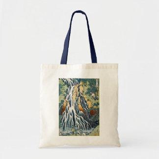 きりふりの滝, 北斎 Kirifuri Falls, Hokusai, Ukiyo-e Tote Bag