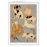 たとえ尽の内(下), 国芳 Japanese Cats(3), Kuniyoshi, Ukiyo-e Greeting Card