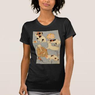 たとえ尽の内(下), 国芳 Japanese Cats(3), Kuniyoshi, Ukiyo-e T-Shirt