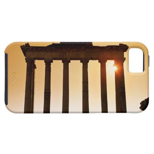 イタリア、ローマのローマのフォーラム、土星の寺院 iPhone SE/5/5s CASE