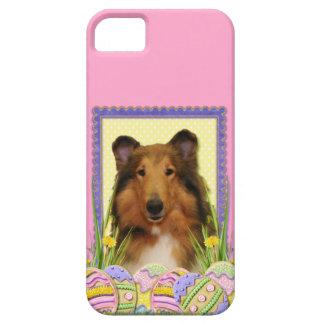 イースターエッグのクッキー-コリー iPhone SE/5/5s CASE