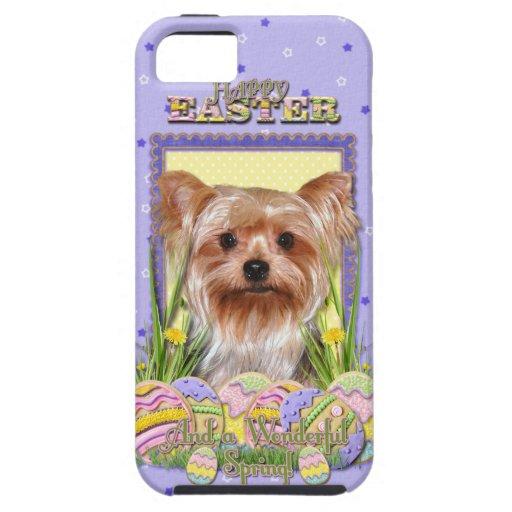 イースターエッグのクッキー-ヨークシャテリア iPhone 5 COVERS