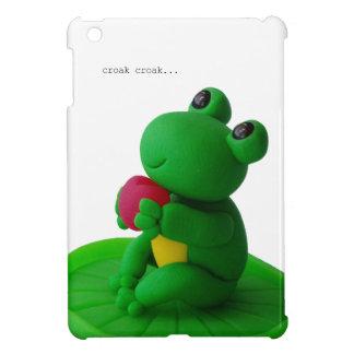 カエルさんとハート iPad MINI カバー