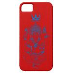 ガネーシャ(青) iPhone 5 ケース