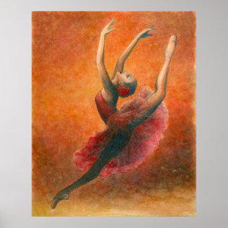 キトリの踊り(ドン・キホーテより)アートプリント ポスター