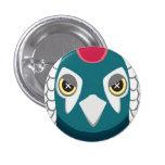 ギンケイ-Lady Amherst's Pheasant 缶バッジピンバック