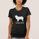 シェパード australiano personalizado del ・ del オーストラリアン camisetas