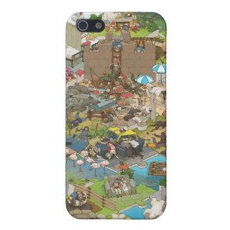 シマダ タカヒコ Everyone is Sleeping Case For iPhone SE/5/5s