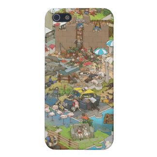 シマダ タカヒコ Everyone is Sleeping iPhone SE/5/5s Case