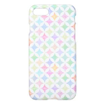 スタンダード サークルパターン パステル iPhone 8/7 CASE