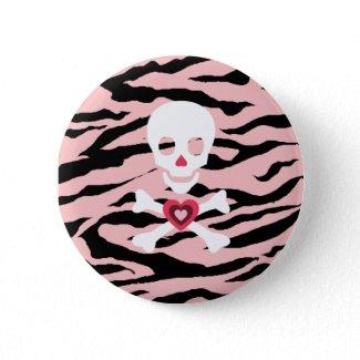 ゼブラスカル(ピンク) button