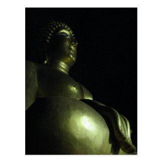 タイ仏教 de la noche de Buda Tarjetas Postales