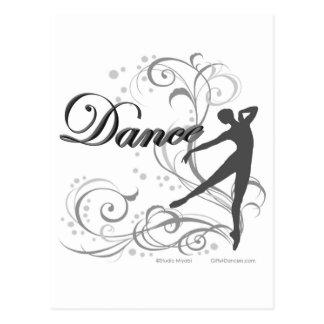 ダンススクロール TARJETA POSTAL