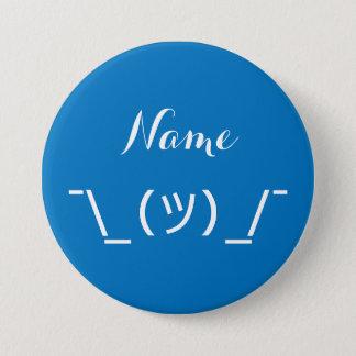 ¯\_(ツ)_/¯ Shrugging Button