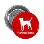 テリア personalizado del ・ del ボーダー de Terrier de fro Pins