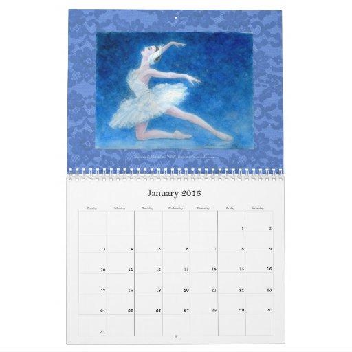 バレエアートカレンダー CALENDARIO