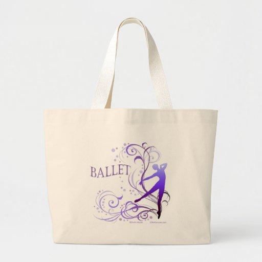 バレエ スクロール TOTE BAGS