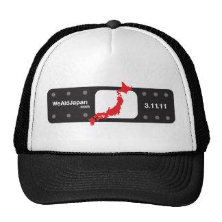 バンドエイド帽子黒 Bandaid del negro del gorra