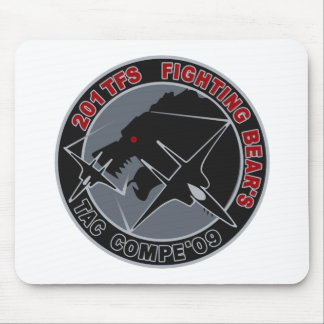 パッチ del 飛行隊 201TFS del 年戦競第 201 del 平成 21 Alfombrilla De Ratón