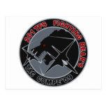 パッチ del 飛行隊 201TFS del 年戦競第 201 del 平成 21 Tarjetas Postales