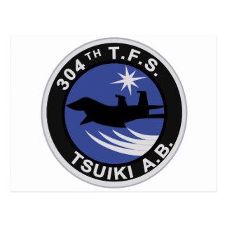 パッチ del 飛行隊 TSUIKI A b del 第 304 Tarjetas Postales