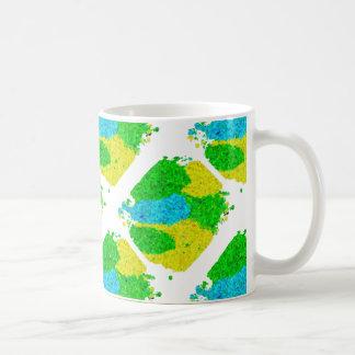 ブラジルカラー 泡模様タイプ Brazil color foam pattern Coffee Mug