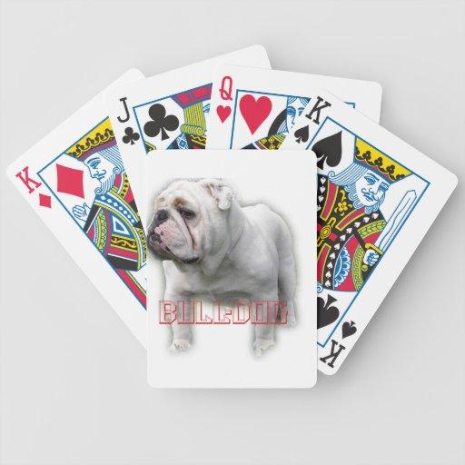 ブルドッグ del dogo baraja de cartas