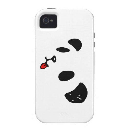ペロリなパンダ Case-Mate iPhone 4 FUNDA