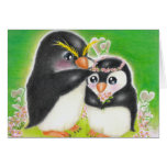 ペンギンの結婚式 カード