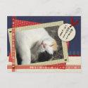 ペーパークラフト風写真年賀状J-New Year PHOTO Post Card postcard