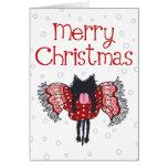 マフラーと子猫 (Christmas Card)